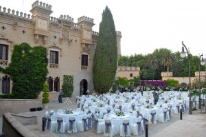 свадьба в замке Испании