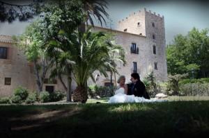 Свадьба в замке фото